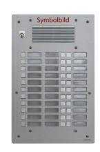 FERMAX AV3033P1 Türstation UP silber Antivandal 3-reihig m. 33 Tasten
