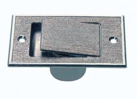 THOMAS METALL-SAUGDOSE SILBER Metall-Bodensteckdose silber f.ZA-Anlag