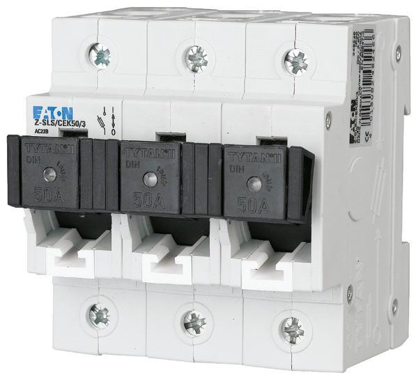 EATON Neozed-Lasttrennschalter D02/D01 50A 3P, kodiert 4,5TE