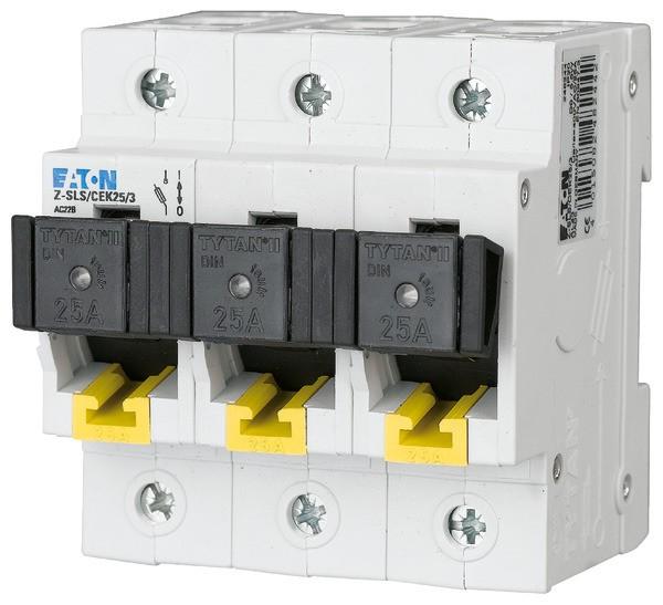 EATON Neozed-Lasttrennschalter D02/D01 25A 3P, kodiert 4,5TE