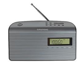 GRUNDIG MUSIC 61 SCHWARZ Radio,1W,UKW,10Senderpseicher,Timer,Netz