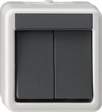 GIRA 010530 Wippschalter Serien WG AP grau
