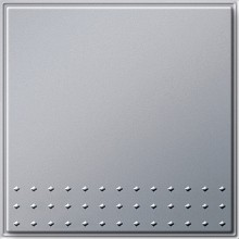 GIRA 012665 Tast-Wechselschalter, TX_44, alu