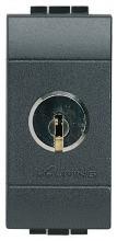 BTICINO L4022 Wechselschalter 1P + Schluessel