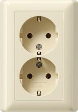 GIRA H 140 von ABB HAF. AusführungSCHUKOAnzahl der Einheiten2AbdeckungVollplatteAufdruck/Ken