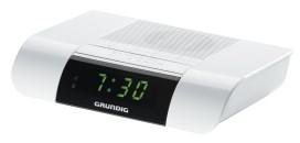 GRUNDIG SONOCLOCK KSC 35 WS Uhrenradio,UKW,10Senderspeicher,weiß
