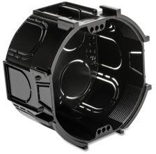 DIETZEL ASD 70 O D Kombi- Abzweig- Schalterdose schwarz anreihbar T=45mm Ø70mm
