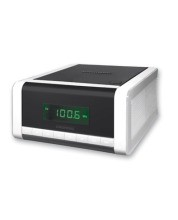 GRUNDIG CCD 5690 SPCD Radiowecker,2x1W,CD/MP3,2Weckz.,silber/s