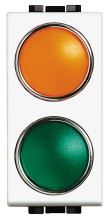 BTICINO N4372AV Leuchtsign.Oran/Gruen