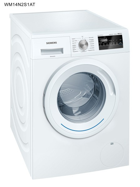 SIEMENS BSHG WM14N2S1AT Waschmaschine 1400U/min 8kg Disp. AqSt. A+++AB ws