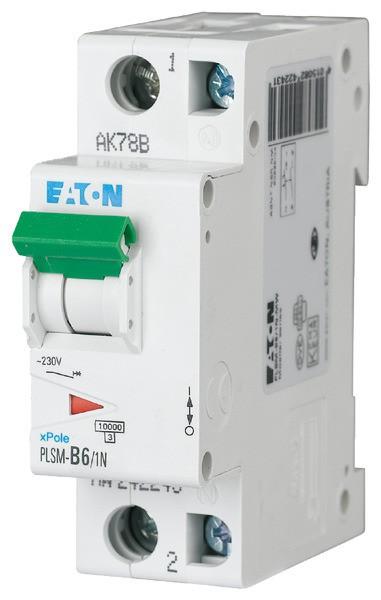 EATON LS-Schalter 6A/1pol+N/B