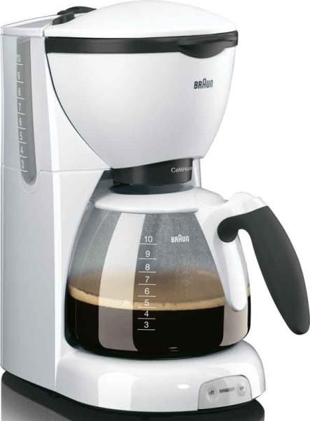 BRAUN Kaffeeautomat CafeHouse,10T.,Glask.,ws