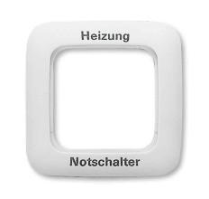 BUSCH&JAEGER R SI Rahmen 1F H-Not 2511 JH-214
