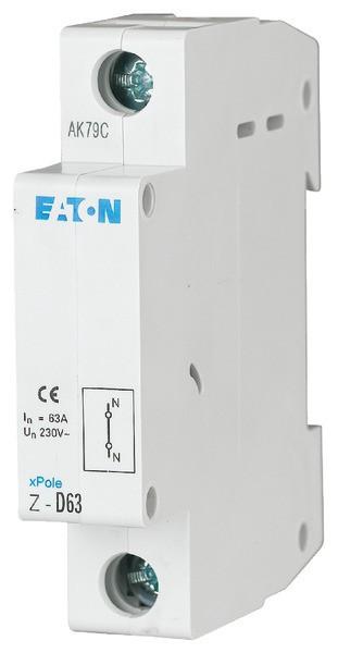 EATON Z-D63 Durchführung f.N-Leiter63A 1-polig 1TE