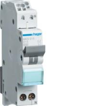 HAGER MKS513 LS-Schalter 13A/1pol+N/B 6kA,1TE, QC
