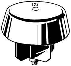 KATHREIN ZTC05 Mastabdeckkapppe für Mast 32-48mm