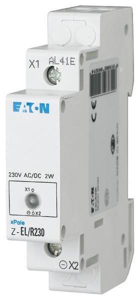 EATON Einzelleuchte Led 230VAC/DC Rot