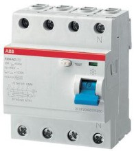 ABB ASelektiver- FI-Schalter F204AS-100/0,5
