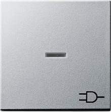 GIRA 020926 Wippe Kontroll Symbol Steckdose Sys55 alu