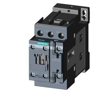 SIEMENS Schütz AC-3:7,5kW 24VDC 3P 1S+1O S0 Schraub