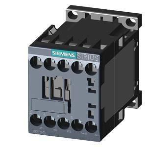 SIEMENS Schütz AC-3:3kW 24VDC 3P 1S S00 Schraub