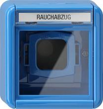 GIRA 020730 Abdeckung Glasscheibe BSF WG AP blau