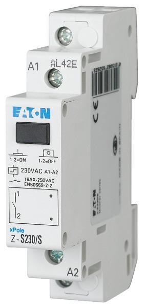 EATON Stromstossschalter 1S, 1TE, 230V AC