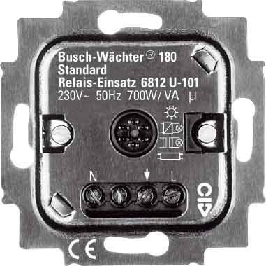BUSCH&JAEGER 6812 U-101 Buschwächter Relaiseinsatz