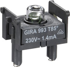 GIRA 099300 Glimmlampenelement 0,8 E10 Zub.