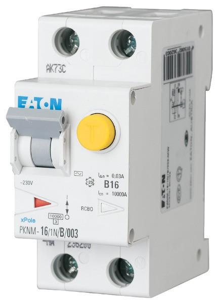 EATON FI/LS-Schalter AC 13A/1+N/C 30mA 250A
