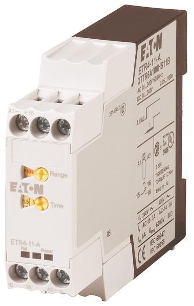 EATON Zeitrelais ansprechverz. 1W/10 Zb 24-240VAC/DC