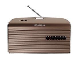 GRUNDIG MUSIC 60 BR/SI Radio,0.75W,UKW/MW,Netz/Batterie,braun-s