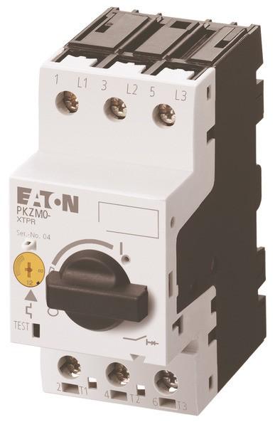EATON Motorschutzschalter 3pol. 6,3-10A, Handbet.