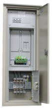 MEHLER FZNVE-1NV/4A Freiluft-Zählernormverteiler EVN Mauereinb. B330xH1185x240mm