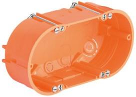 KAISER 9062-02 HWD-Doppel-Geräte-Verbinderdose H=47mm