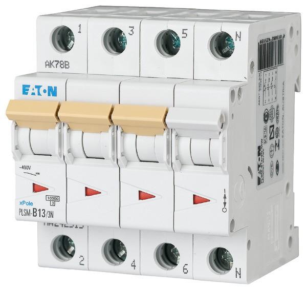 EATON PLSM-C13/3N-MW LS-Schalter 13A/3pol+N/C