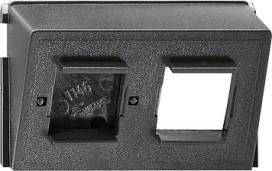 GIRA 005800 Einsatz Datenhaube AT+T 2fachZub.