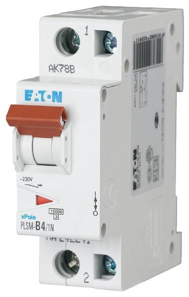 EATON LS-Schalter 4A/1pol+N/C