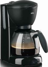 BRAUN HH KF560 Kaffeeautomat CafeHouse,10T.,Glask.,sw