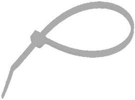 CELLPACK KS 4,8/200,TR Kabelbinder transparent