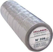 CELLPACK E228 0.19-19-20 GL PVC-Isolierband, gelb