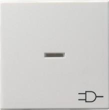 GIRA 020927 Wippe Kontroll Symbol Steckdose Sys55 rws matt