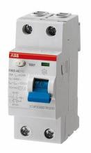 ABB ACSelektiver- FI-Schalter F202AC-63/0,1G